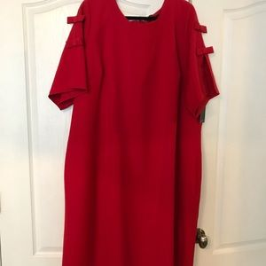 Red sheath dress from Eloquii. Size 26. NWT